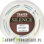 Sznur muchowy Traper - Silence Dry Fly WF -  kolor white