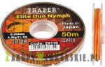 Żyłka Traper - Elite Duo Nymph - 50m (od 0,148 do 0,243mm)