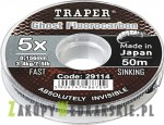 Żyłka Traper - Ghost Fluorocarbon - 50m (od 0,114 do 0,198mm)